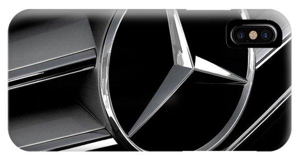 Automotive iPhone Case - Mercedes Badge by Douglas Pittman