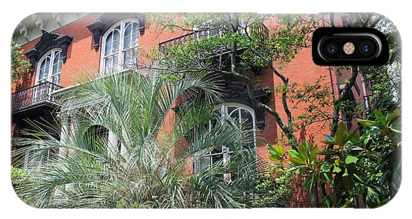 Mercer Williams House-savannah Ga IPhone Case