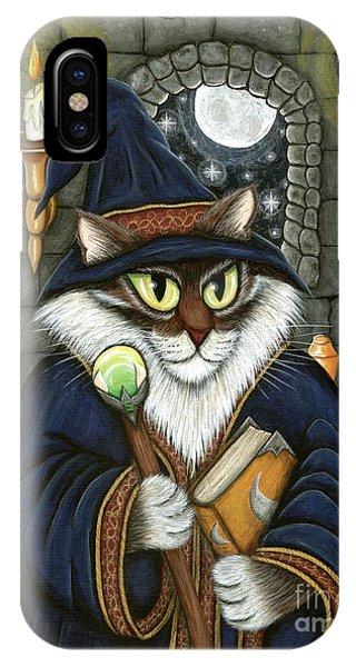 Merlin The Magician Cat IPhone Case