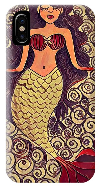 iPhone Case - Mermaid Dreams by K Daniel
