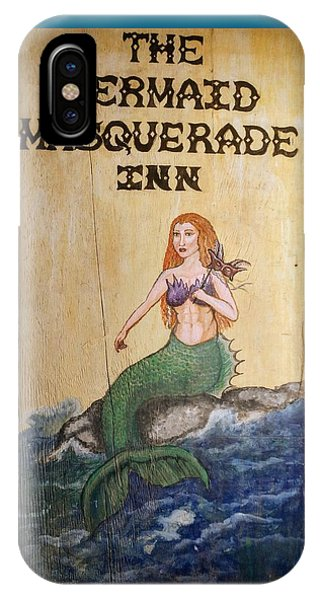 Mermaid Masquerade Inn IPhone Case
