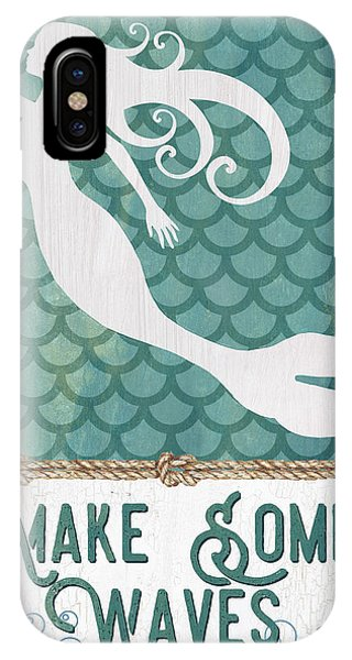 Mermaid Waves 1 IPhone Case