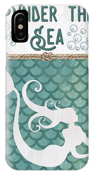 Mermaid iPhone Case - Mermaid Waves 2 by Debbie DeWitt