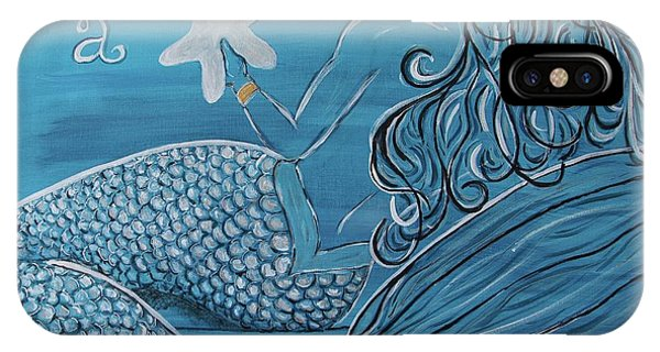 iPhone Case - Mermaid- Wish Upon A Starfish by Megan Cohen
