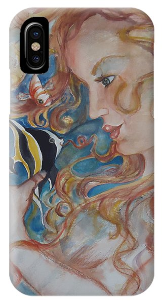 Mermaids Kiss IPhone Case
