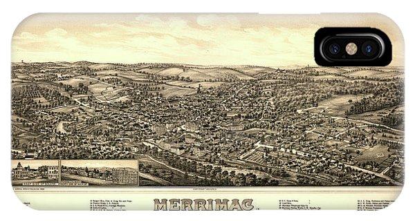 1877 iPhone Case - Merrimac, Mass. by George Norris