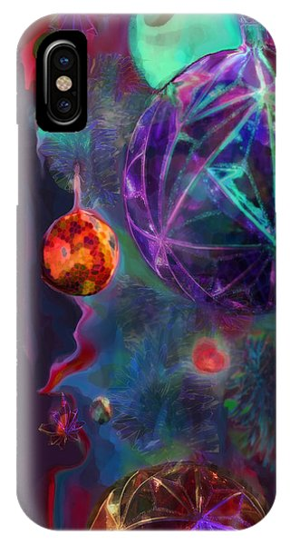 Merry And Bright Holidays IPhone Case