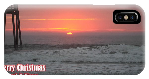 Merry Christmas Sunrise  IPhone Case