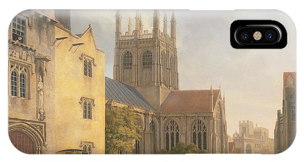 Michael iPhone Case - Merton College - Oxford by Michael Rooker