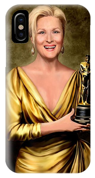 Meryl Streep Winner IPhone Case