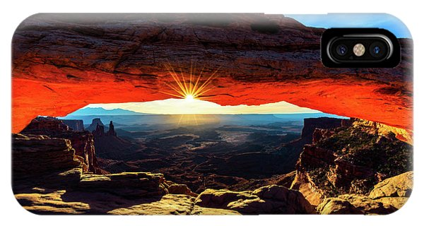 Mesa Arch Sunrise IPhone Case