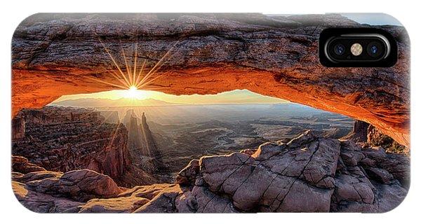 Mesa Arch Sunburst IPhone Case