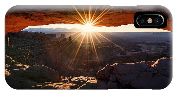 Sandstone iPhone Case - Mesa Glow by Chad Dutson