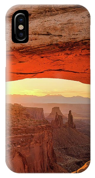 Mesa Rising Center IPhone Case
