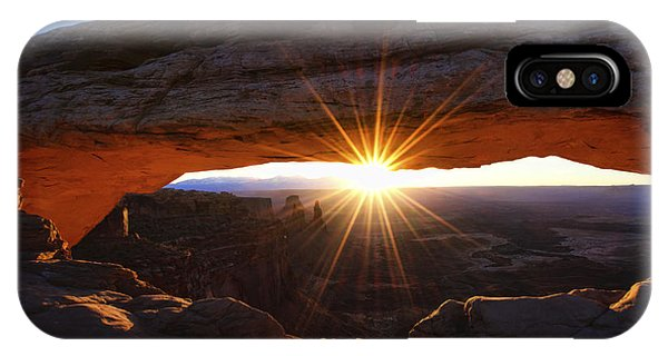 Exposure iPhone Case - Mesa Sunrise by Chad Dutson