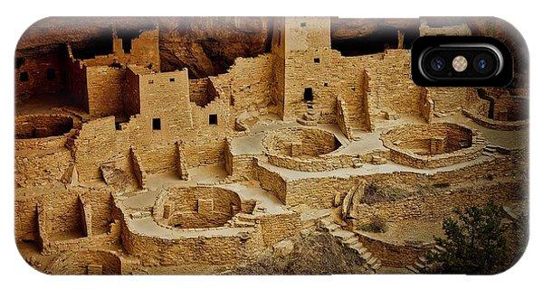 Mesa Verde Cliff Dwellings, Mesa Verde National Park IPhone Case