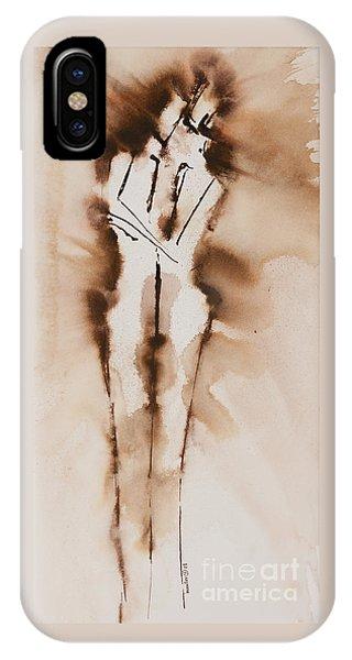 Lgbt iPhone Case - Mesh II  His Divine Love Series No. 1285 by Ilisa Millermoon