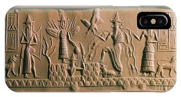 Mesopotamian Gods IPhone Case