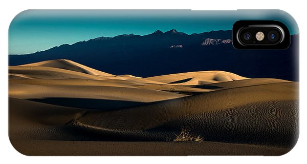 Mesquite Dunes IPhone Case