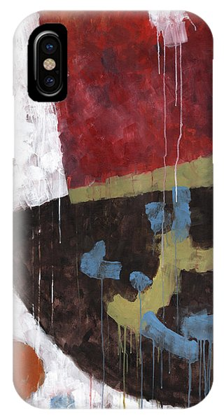 Organic Abstraction iPhone Case - Message From Martha by Douglas Simonson
