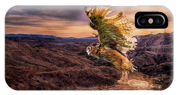 Messenger Of Hope IPhone Case