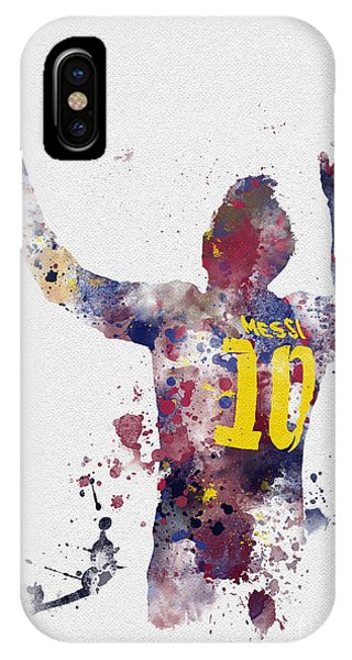 Argentina iPhone X Case - Messi by My Inspiration