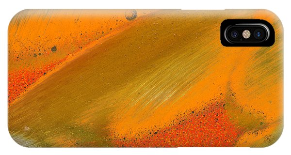IPhone Case featuring the photograph Metal Abstract Four by David Waldrop