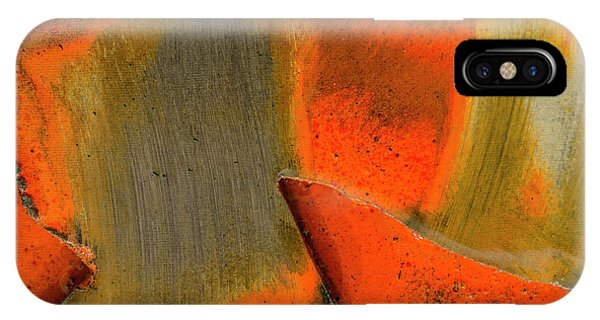 IPhone Case featuring the photograph Metal Abstract Three by David Waldrop