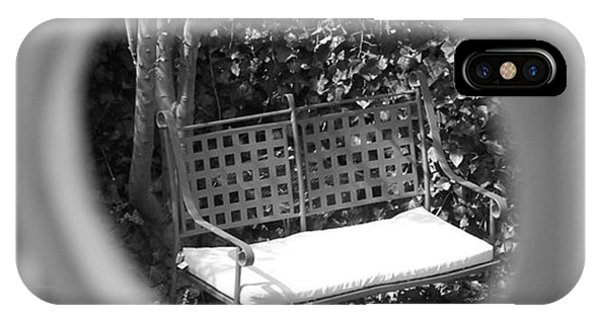 Metal Bench In Sedona IPhone Case