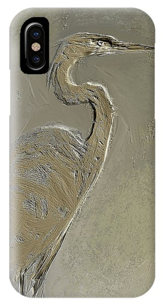 Metal Egret 3 IPhone Case