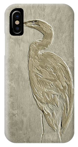 Metal Egret 4 IPhone Case