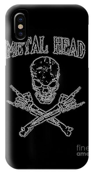 Metal Head IPhone Case