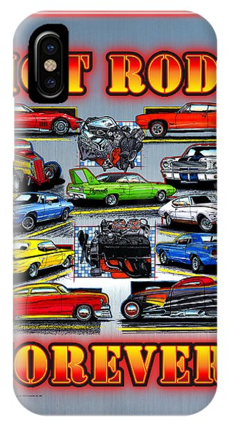 Metal Hot Rods Forever IPhone Case