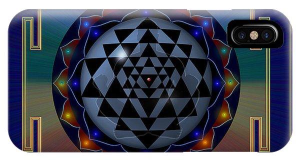 Metal Mandala IPhone Case