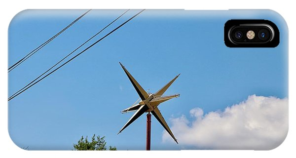 Metal Star In The Sky IPhone Case