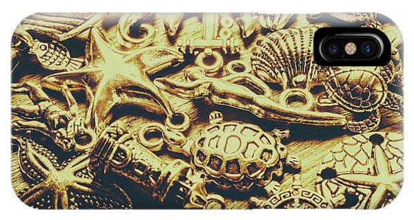Nautical iPhone Case - Metallic Marine Scene by Jorgo Photography - Wall Art Gallery