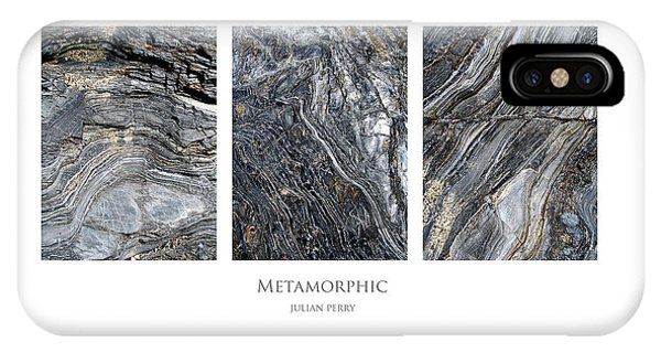 IPhone Case featuring the digital art Metamorphic by Julian Perry