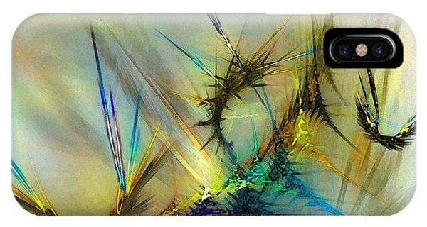 Abstract Expression iPhone Case - Metamorphosis by Karin Kuhlmann