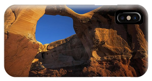 IPhone Case featuring the photograph Metate Arch by Edgars Erglis