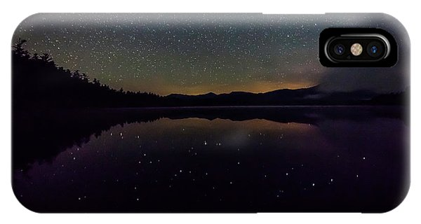 Meteor Over Chocorua Lake IPhone Case
