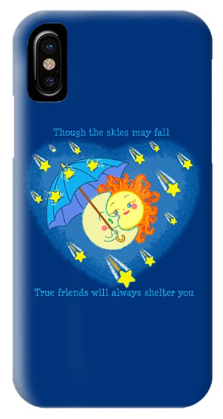 Meteor Shower 2 IPhone Case