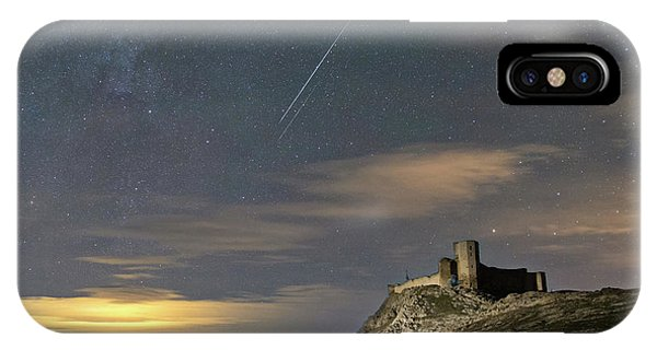 Meteors Above The Fortress IPhone Case