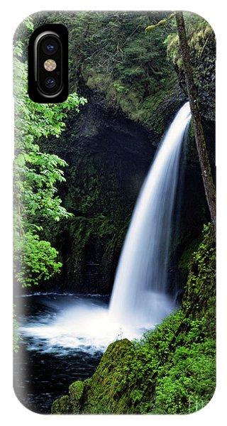 Metlako Falls Waterfall Art By Kaylyn Franks IPhone Case