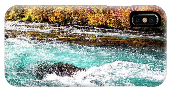 IPhone Case featuring the photograph Metolius River by David Millenheft