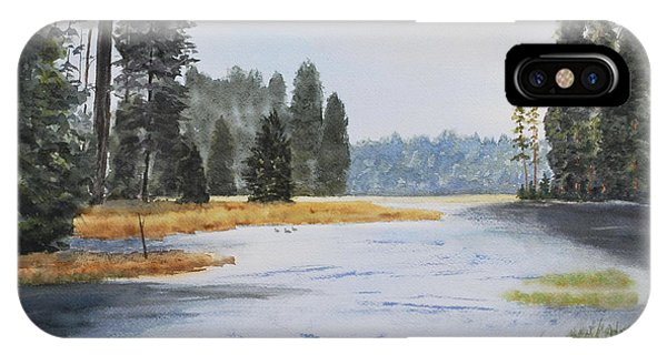 Metolius River Headwaters IPhone Case