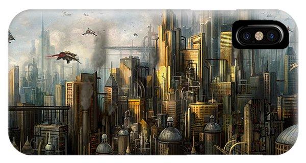 Metropolis Phone Case by Philip Straub