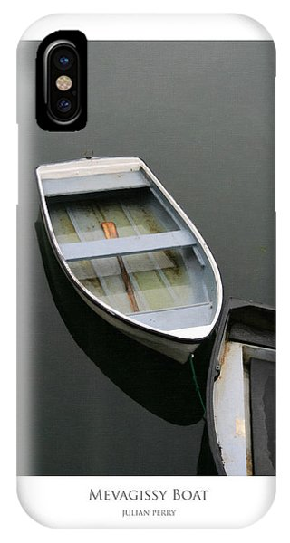 Mevagissy Boat IPhone Case