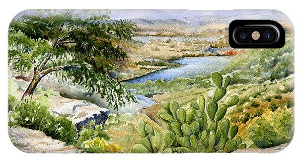 Mexican Landscape Watercolor IPhone Case