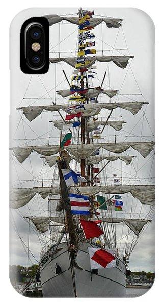 Mexican Navy Ship IPhone Case