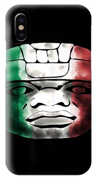 Mexican Olmec IPhone Case